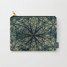 Sacred Geometry for your daily life -  ESOTERIC FLOWER OF LIFE Carry-All Pouch