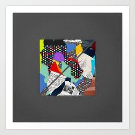 Square #1 Art Print