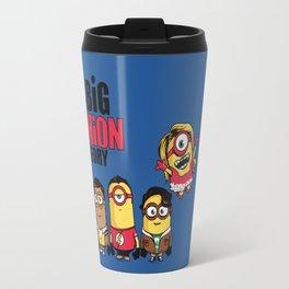 The Big Minion Theory Travel Mug
