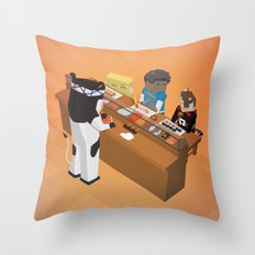 The Nick Yorkers in September Throw Pillow