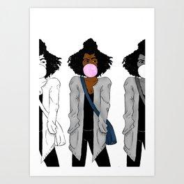 judging you (multi) Art Print
