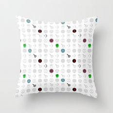 six mousquetaires Throw Pillow