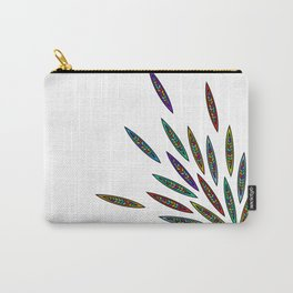 Exploding Feathers Carry-All Pouch