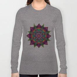 Coloured Mandala Long Sleeve T-shirt