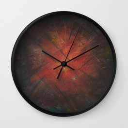 By the Campfire Wall Clock