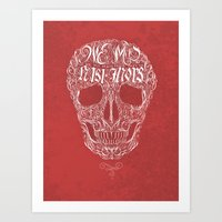 No One But Death (Shall Part Us) Art Print