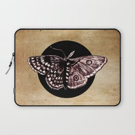 Half Moth Half Butterfly Devided Laptop Sleeve