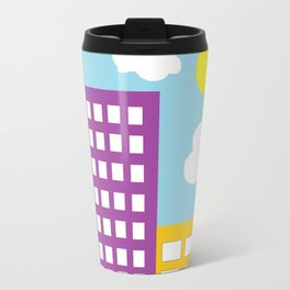 Microsoft Paint City Travel Mug