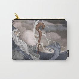 I wish I were a Wizard Carry-All Pouch