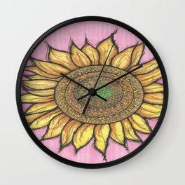 SOLFLOWER Wall Clock
