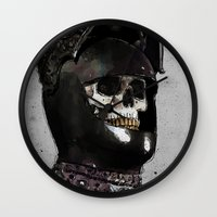 medieval Wall Clocks featuring Medieval Knight by Ed Pires
