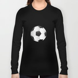 Mounted Football On Rotating Swivel Long Sleeve T-shirt