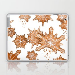Gingerbread Cookie Blizzard Laptop & iPad Skin