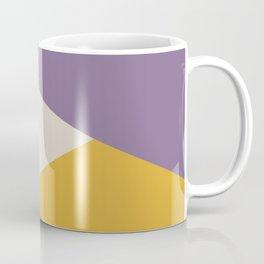 Earthy Autumn Colors Abstract Shapes Coffee Mug