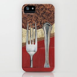 Silver & Gold iPhone Case
