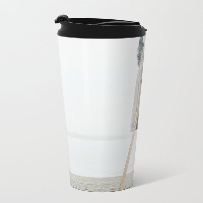 Same side Metal Travel Mug