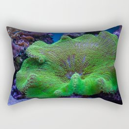 Underwater Coral Reef Rectangular Pillow