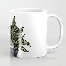 Mr. Tiny + Pot Coffee Mug