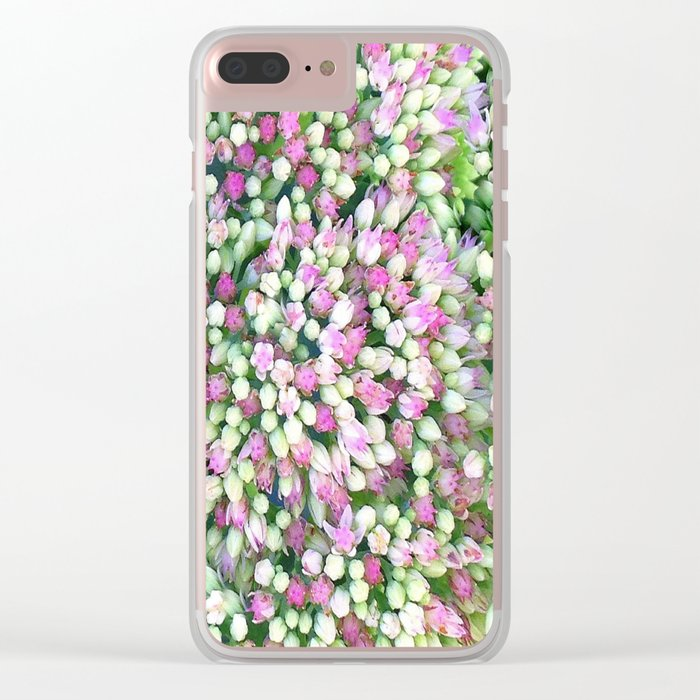 Flower | Flowers | Carpet of Flowers Clear iPhone Case