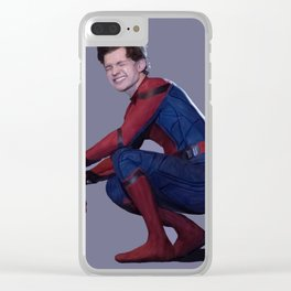 peter parker Clear iPhone Case