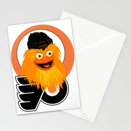 Gritty the mascot of. The Flyers Stationery Cards