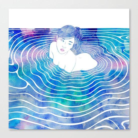 Water Nymph LXXXIX Canvas Print