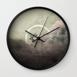 Controlled Burn - B Wall Clock