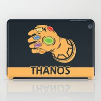 thanos iPad Cases featuring To Infinity And Beyond! by Remix Comix