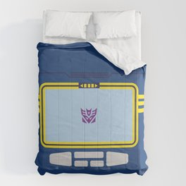 Soundwave Transformers Minimalist Comforters
