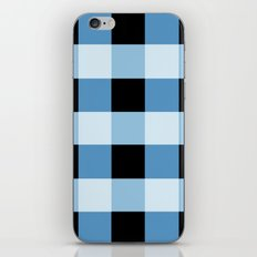 Blue Squares iPhone & iPod Skin