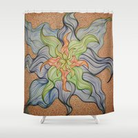 orchid Shower Curtains featuring Orchid by Vincent Murphy