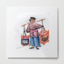 Pith Painting Double carrier Metal Print