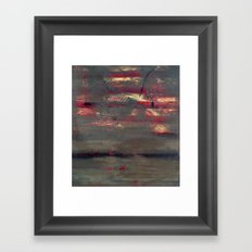 Abstract America (oil on canvas) Framed Art Print