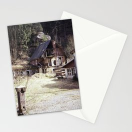 travelling east into the past Stationery Cards