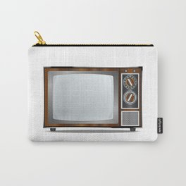 Old Television Set Carry-All Pouch
