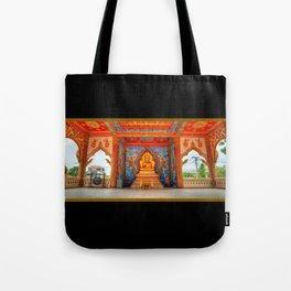 Golden Temple Laos Tote Bag