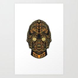 Copper Bot Problem Not Art Print