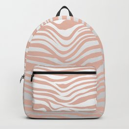 Rose Gold Tiger Stripes Backpack