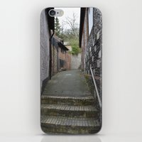 winchester iPhone & iPod Skins featuring Winchester Alley by Ashley Callan