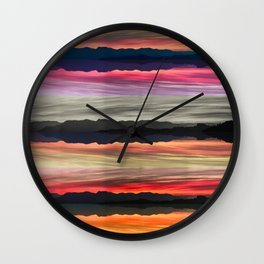 MIRROR, MIRROR. Wall Clock