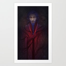 The Prince of Shadows Art Print