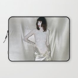 """say no to patriarchy / """"the prostitute"""" Laptop Sleeve"""