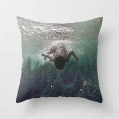 the level inside will rise Throw Pillow