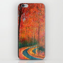 Beautiful colors of Autumn iPhone Skin