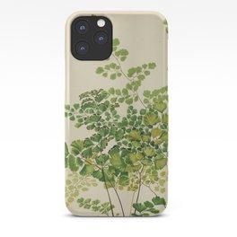 Maidenhair Ferns iPhone Case