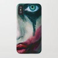 joker iPhone & iPod Cases featuring Joker by Imustbedead