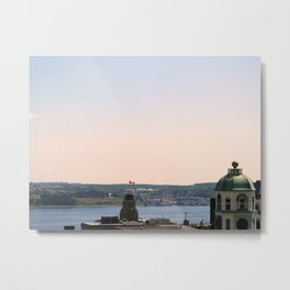 View From the Citadel II Metal Print