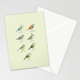 The Tit Family Stationery Cards