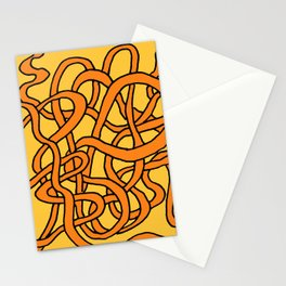 Spaghetti in Tomato Sauce Stationery Cards