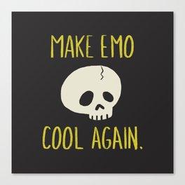 Make Emo Cool Again Canvas Print